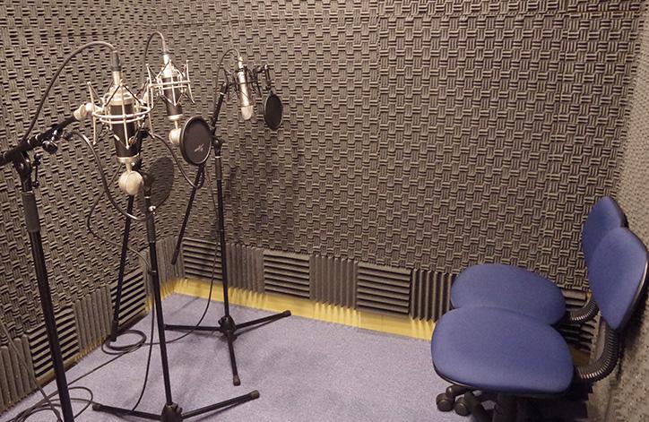 スタジオ風景の写真