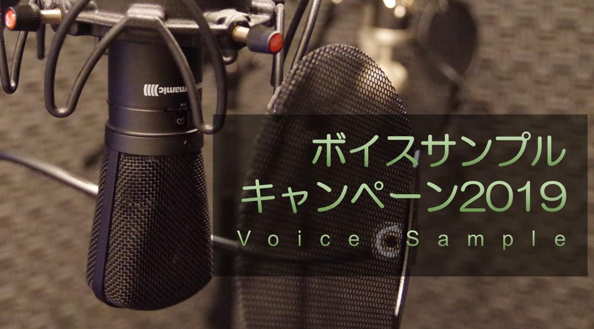 5,000円(オペレーター付き)で日ナレさん(関連会社オーディション)向けのボイスサンプルを作成できます!