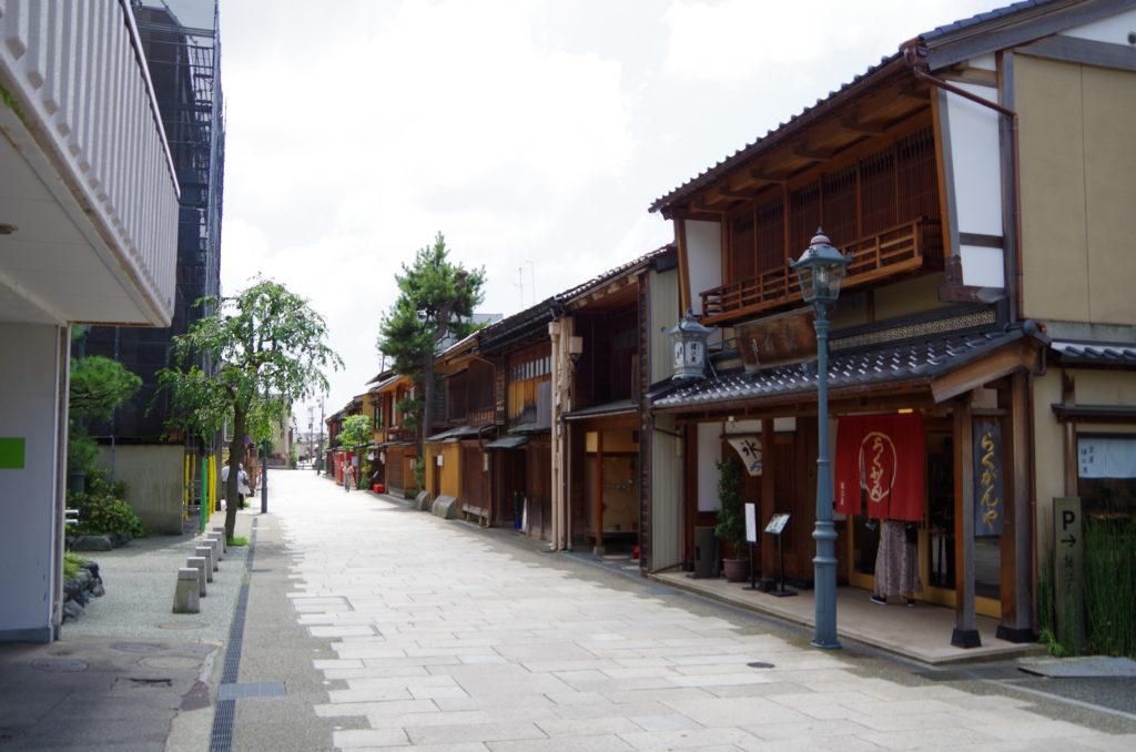 金沢旅行 にし茶屋街