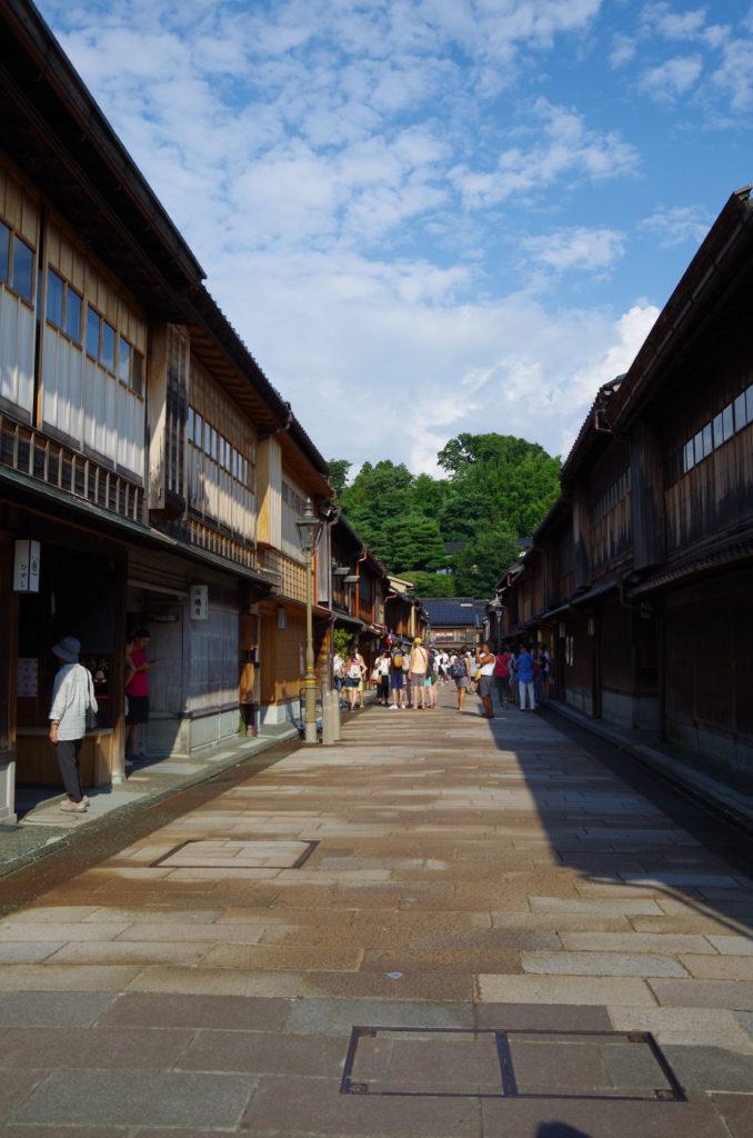金沢旅行 ひがし茶屋街