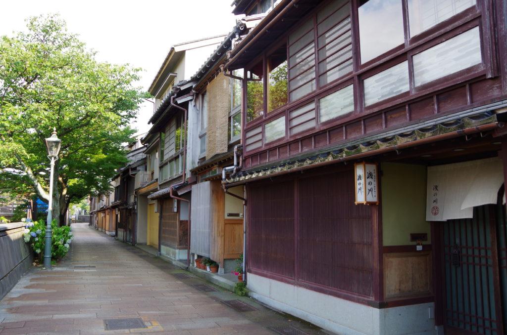 金沢旅行 主計町茶屋街とあめの俵屋