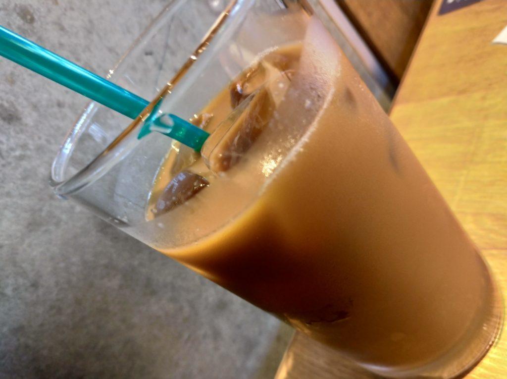 プロントのアイスコーヒー